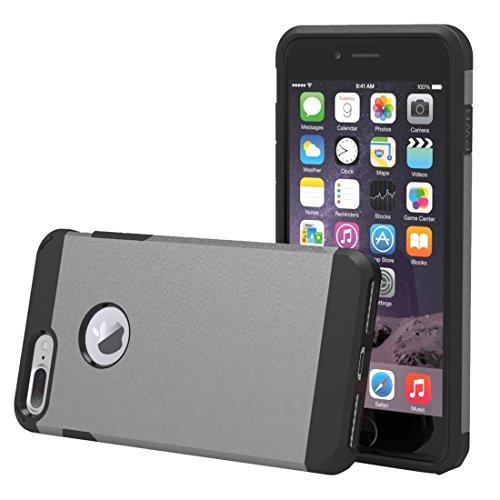 YAN Für iPhone 7 Plus Trennbares Corselet TPU + PC Kombi-Gehäuse, Kleine Menge Empfohlen vor iPhone 7 Plus Starten ( Color : White ) Grey