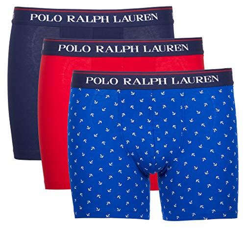 Ralph Lauren 3er Pack Boxer Boxershorts 71473041 0002 Multicolor (XL)