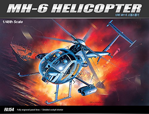 1/48 MH-6 STEALTH HELICOPTER