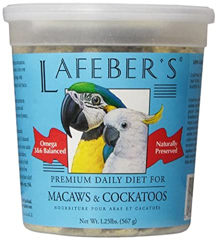 Lafeber Company Macaw Pellets Premium Daily Diet Pet Food,