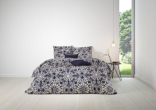 Mistral Home lenzuola Arabesque blu notte 2x 80x 80+ 1x 200x 200cm (120948)