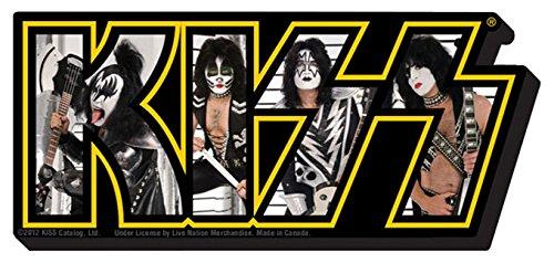 Kiss New Photo Logo Chunky Magnet -