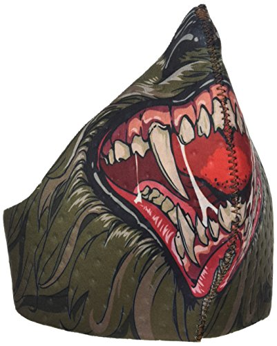 rwolf Mask, Mehrfarbig, One Size (Kind Werwolf Maske)