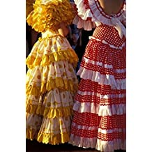 John & Lisa Merrill / DanitaDelimont – Colorful Flamenco Dresses at Feria de Abril Sevilla Spain