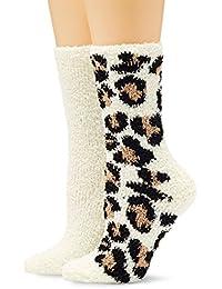 Womens Shammy Slipper Socks, Purple, One Size (Manufacturer Size: 1) Dorothy Perkins