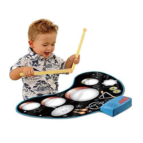 TTGE Trommel musikmatte frühkindliche Bildung Musikinstrument, die Spieldecke spielt 78 * 62 cm