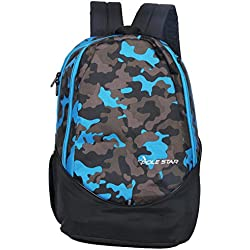 Polestar RANGER 30 L black/blue Casual Backpack with laptop compartment
