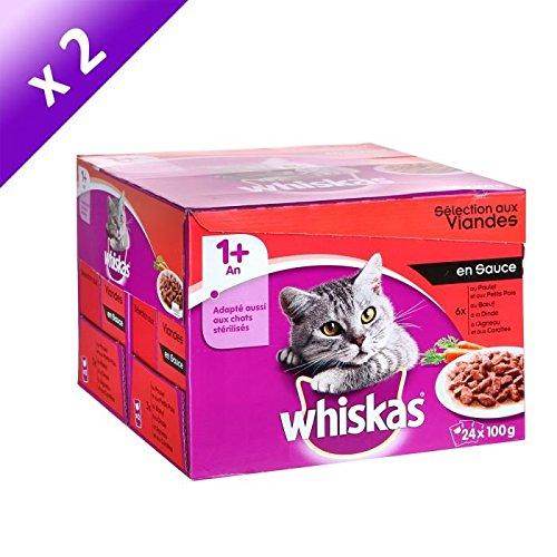 whiskas-whiskas-selection-aux-viandes-en-sauce-24-x-100g-x2-pour-chat-adulte