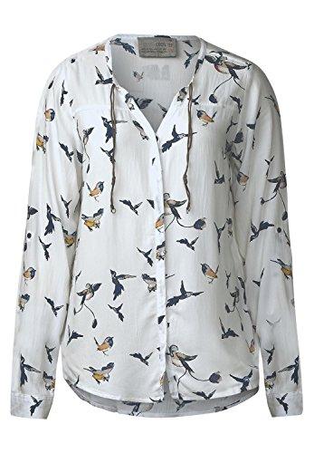 cecil-damen-bluse-mit-vogelprint-pure-off-white-xl