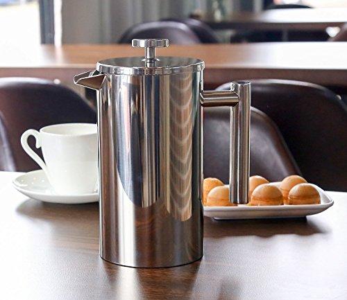 Decen Kaffeebereiter mit Edelstahlfilter