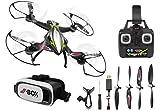 Jamara Drone con Bussola, Colore Nero, 422021