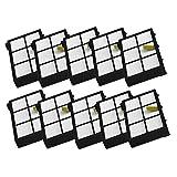 Agile-shop Lot de 10filtre HEPA de remplacement pour iRobot Roomba Série...