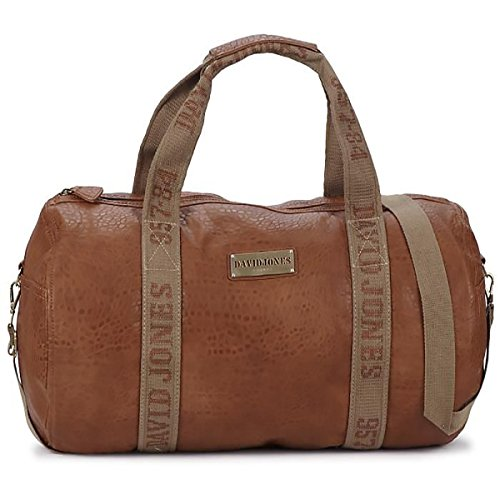 Sac polochon DAVID JONES CM0045-9 Cognac