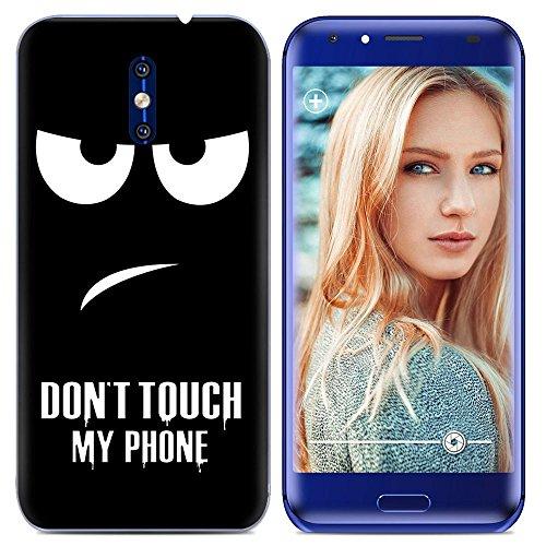 Easbuy Handy Hülle Soft Silikon Case Etui Tasche für Doogee BL5000 BL 5000 Smartphone Cover Handytasche Handyhülle Schutzhülle