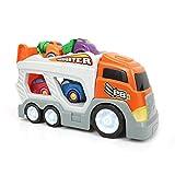 Mamatoy MMA76000 – Mamatoy Gran Camión de Transporte – ¡Un camión de juguete que transporta coches para niños!