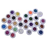 TOOGOO(R)30-in-1 Mischung Flash Puder Pigment Glitter Lidschatten Pulver Augenschatten