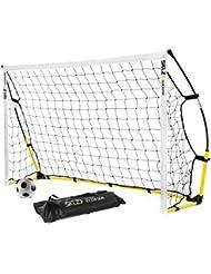 SKLZ Quickster trag- und faltbares Fussball Tor 6x4 (1,20 x 1,80m)