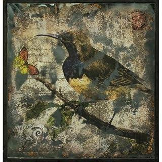 Curlew Glass Print Wall Art