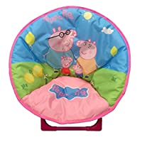 just 4 baby Kids Children Foldable Bedroom Play Room Moon Chair Moonchair PIG FAMILY Design