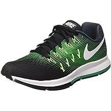 Nike Air Zoom Pegasus 33, Zapatillas de Running Hombre, Varios Colores (Armory Navy/White/Black/Stadium Green/Ghost Green), 40.5 EU