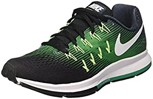 Nike Men's Air Zoom Pegasus 33 Fitness Shoes, Green (Armory Navy/White/Black/Stadium Green/Ghost Green), 10 UK