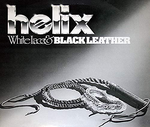 Helix - White Lace & Black Leather- 40Th Anniversary Editi Lace Helix