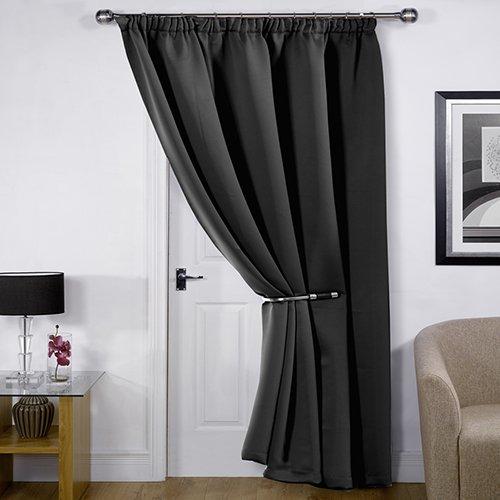 Single Thermal Door Curtain Amazon Co Uk