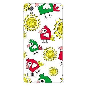 Garmor Designer Plastic Back Cover For Sony Xperia XA