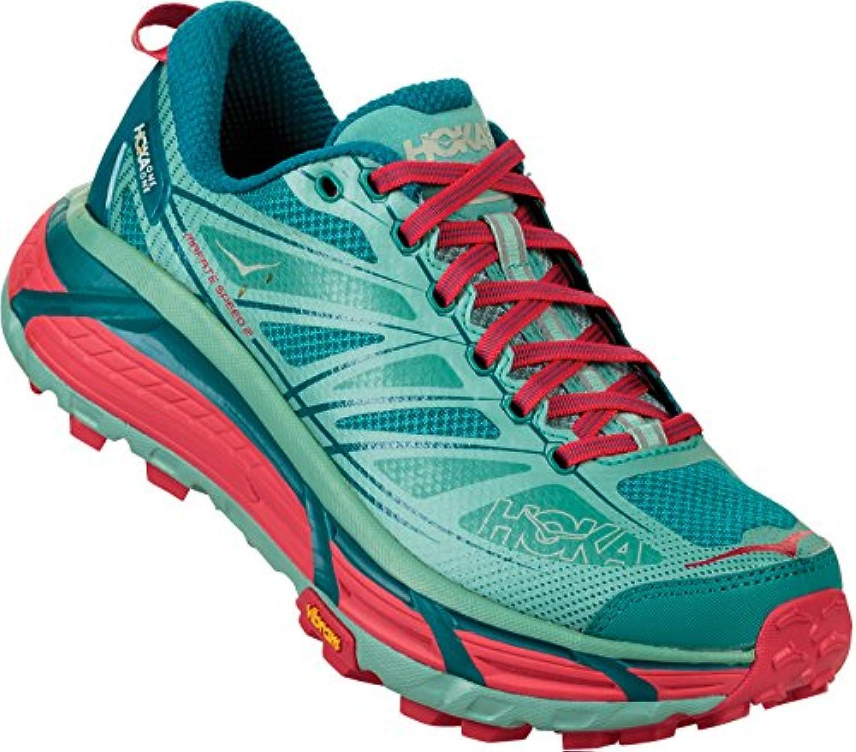 Hoka One - Zapatillas para Correr en Montaña para Mujer Canton/Green-Blue Slate, Color, Talla US 9 | EU 41 1/3