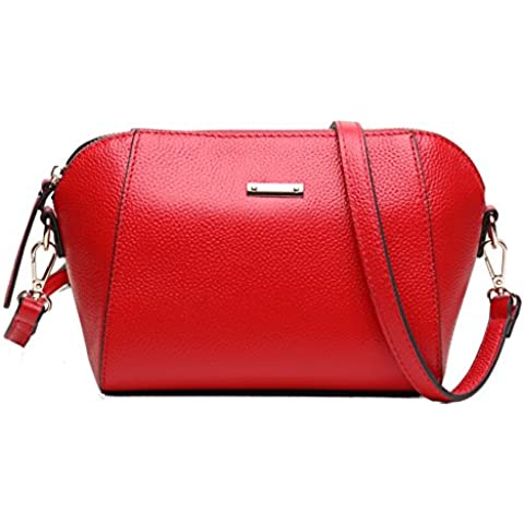 leather Crossbody/In pelle Ladies mini shell Pack in estate e