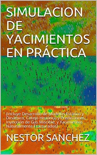 SIMULACION DE YACIMIENTOS EN PRÁCTICA: (Incluye Desarrollo de Modelos Estático y Dinámico, Cotejo Histórico y Predicciones, Inyección de Gas Miscible, y Yacimientos Naturalmente Fracturados)