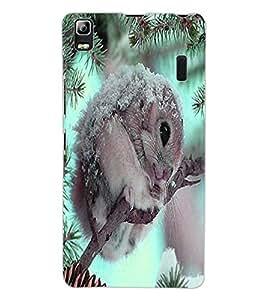 ColourCraft Cute squirrel Design Back Case Cover for LENOVO A7000