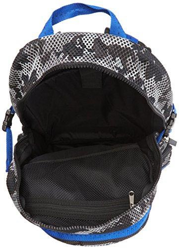 Superdry Men's Camo Mesh Shoulder Bag Multicolour Multicolore - Grey/Cobalt Image 6