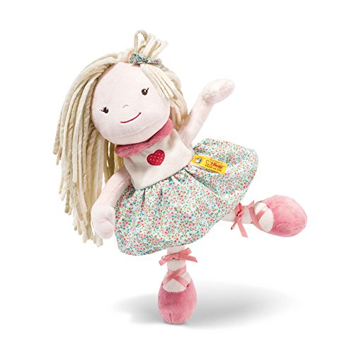 Steiff 015502 Blossom Babies Puppe Plüsch rosé 30 CM (Plüsch-baby-puppe)