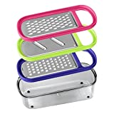 Best Box Graters - Primeway® Metaltex Rap Box 3 Grater with Container Review