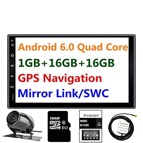 Panlelo PA09YZ16, 7 Pulgadas 2 Din Head Unit Android 5.1 GPS Navegación...