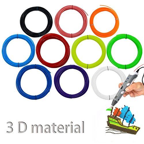 Penna Stampante 3D per Disegni Stereoscopici, opere D'arte, modelli tridimensionali XeYOU Arancione
