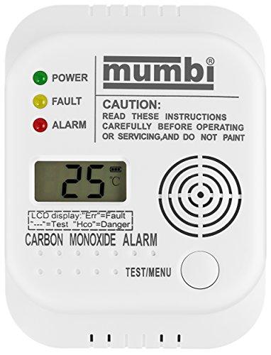 Gaswarnmelder mumbi CM100 Kohlenmonoxid CO Melder Gasmelder - 3