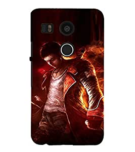 Ebby Premium 3d Desinger Printed Back Case Cover For LG Nexus 5X (Premium Desinger Case)