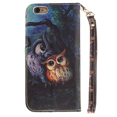 "iPhone 6 Plus Coque, MYTHOLLOGY PU Cuir Case à rabat Folio EtuI Housse pour iPhone 6 Plus / iPhone 6S Plus (5.5"") avec Support Magnétique Portefeuille Dragonne Case - HFL MTYX"