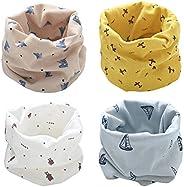 Bufanda Bebé Niños Pañuelo Cuello Bufanda de Algodón Infantil Calentador de Cuello Otoño Invierno Multipropósi