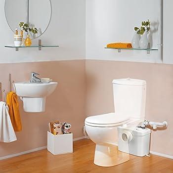 SFA, Sani Broy Pro Toilet seat Lifting System, White, 0014