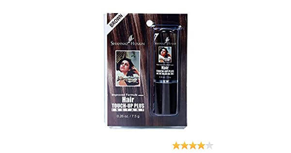 e03ac0de9da5f Buy Shahnaz Husain Instant Hair Touch Up Plus Brown 7.5g Online at Low  Prices in India - Amazon.in