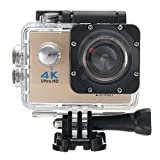 Gaddrt Wasserdichte 4K Wifi HD 1080P Ultra Sports Action Kamera DVR Cam Camcorder (gold)