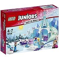 Lego 10736 Juniors Annas und Elsas Eisspielplatz, Disney Prinzessin Spielzeug