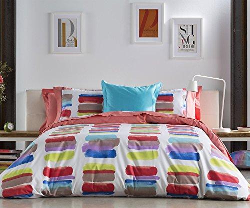 Naf Naf letto Matisse collezione Matisse Nettuno   100% cotone   300fili Stampe design letto., 100% Cotone, Queen