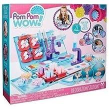 Pom Pom Wow Estación de Juguete para decoración de Pompones ...