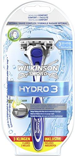 Wilkinson Sword Hydro 3 Starterset Rasierapparat mit 3 Klingen