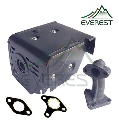 Everest marque Honda gx34011hp & GX39013HP Silencieux Générale avec tête Shield Collecteur et 2joints