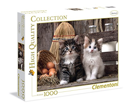 Clementoni- gattini high quality collection puzzle, 1000 pezzi, 39340
